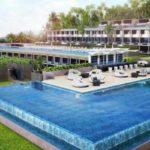 Уникальные апартаменты с бассейном на балконе!