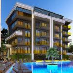 Современные апартаменты в новом жилом комплексе