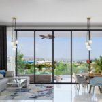Роскошные апартаменты с бассейном, тренажерным залом и садом