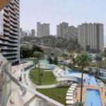 Современные апартаменты с террасой и видом на море