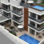 Новые двухуровневые апартаменты с личным бассейном