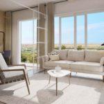 Новые апартаменты с 1 спальней в Golfville